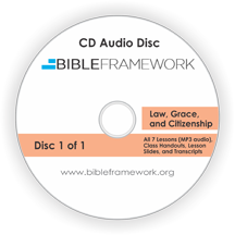 Law, Grace, & Citizenship CD